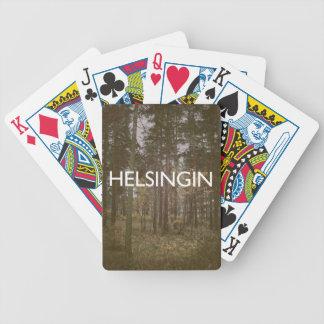 Helsinki - Helsingin Bicycle Spielkarten