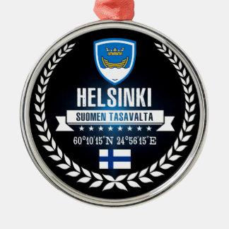 Helsinki Silbernes Ornament