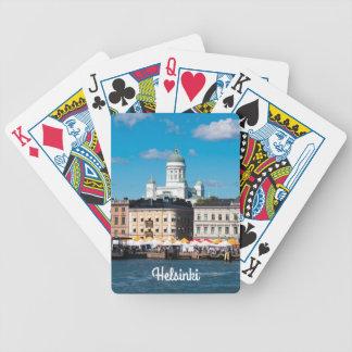 Helsinki-Skyline Bicycle Spielkarten