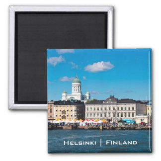 Helsinki-Skyline Quadratischer Magnet