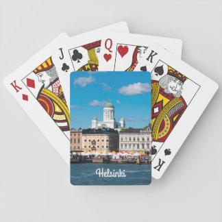 Helsinki-Skyline Spielkarten