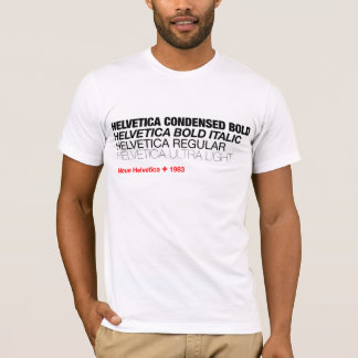 HelveticaNeue Veränderungs-T-Stück T-Shirt