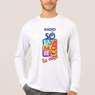 Hemd Alleines Radio Kakarecos - langer Weißer T-Shirt