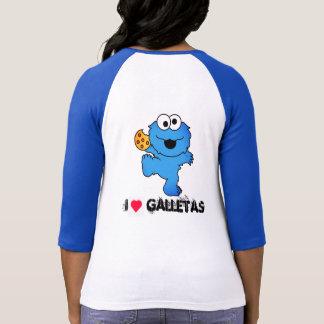 hemd des Monsters isst Kekse T-Shirt