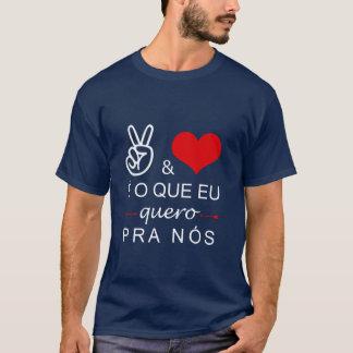 Hemd Paz und Liebe T-Shirt