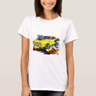 Hemi Cuda gelbes Auto 1971 T-Shirt