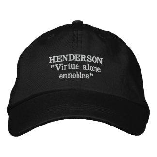 Henderson-Clan-Motto gestickter Hut