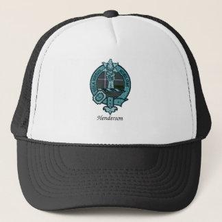 Henderson-Clan-Wappen Truckerkappe