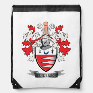 Henderson-Familienwappen-Wappen Turnbeutel
