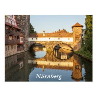 Henkersteg in Nürnberg Postkarte