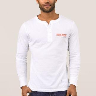 Henley die Beweglichkeit der Männer langes T-Shirt