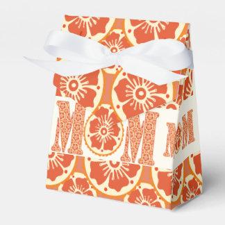 Hennastrauch-Blumen-Muster der TAG der Mutter der Geschenkschachtel