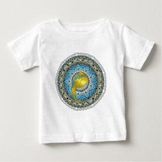 Hennastrauch-Elefant-Mandala Ganesha Baby T-shirt