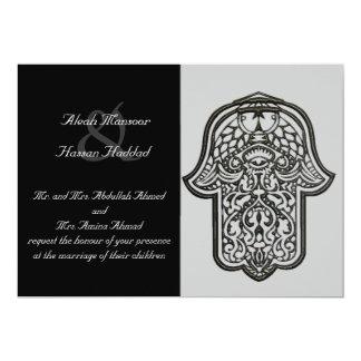 Hennastrauch-Hand von Hamsa (Hochzeit) Karte
