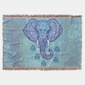 Hennastrauch-Indien Lord-Ganeshsymbol Decke