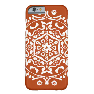 Hennastrauch-Mandala Barely There iPhone 6 Hülle