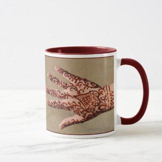 Hennastrauch-Tätowierung Tasse