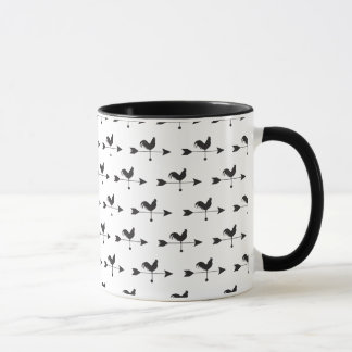 HENNE Hahn-Land-Vieh-Pfeil-Tasse Tasse