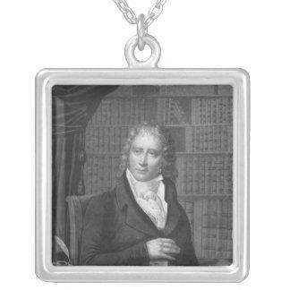 Henri Benjamin Constant de Rebecque Versilberte Kette