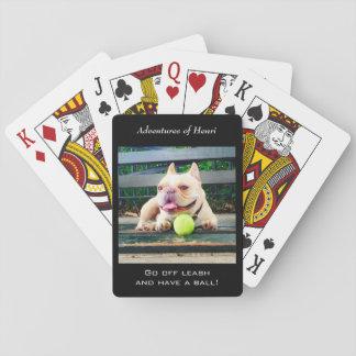 Henri entwarf Spielkarten