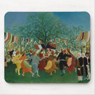 Henri Rousseau - ein Centennial von Unabhängigkeit Mousepad