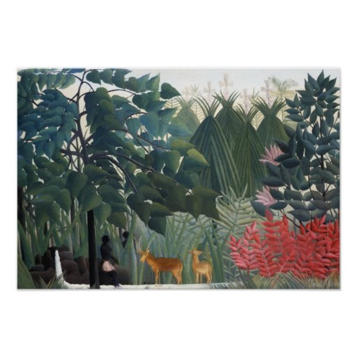 Henri Rousseau-Malen Posterdrucke