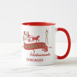 Henricis Restaurant, Chicago, IL 1868-1962 Tasse