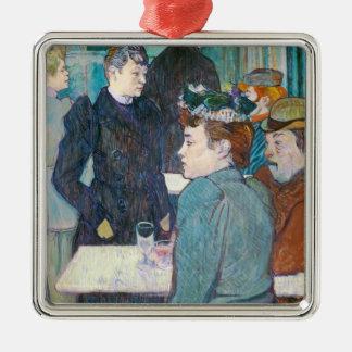 Henride Toulouse-Lautrec | Moulin de la Galette Silbernes Ornament