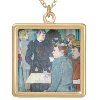 Henride Toulouse-Lautrec | Moulin de la Galette Vergoldete Kette