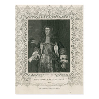 Henry Bennet, 1. Graf von Arlington Postkarte