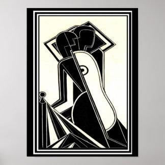 """Henry-Butler-""""weibliche Zahln-"""" Deko-Druck 1928 Poster"""