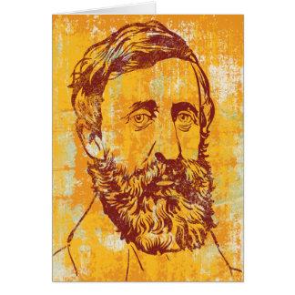 Henry David Thoreau-Karte