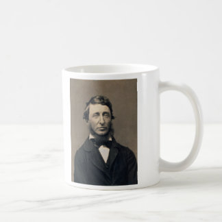 Henry David Thoreau-Porträt Maxham Daguerreotype Kaffeetasse