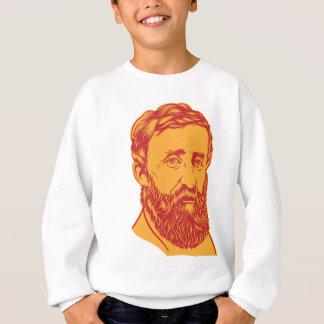 Henry David Thoreau-Porträt Sweatshirt