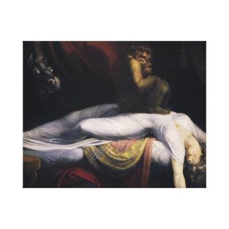 Henry Fuseli - der Albtraum Leinwanddruck