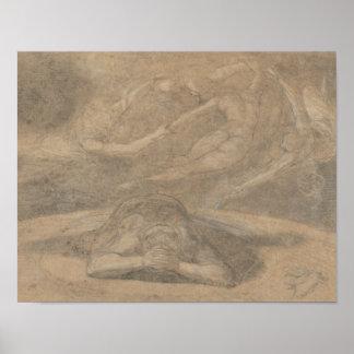 Henry Fuseli - der Traum des Bauers, Paradies Poster