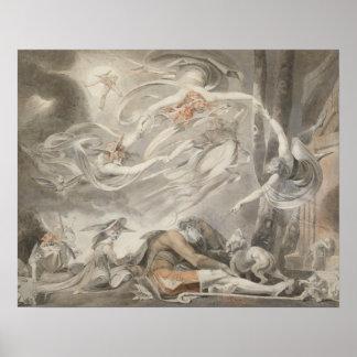 Henry Fuseli - der Traum des Schäfers Poster