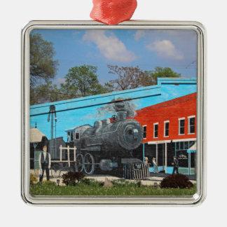 Henry Martin Memorial Park Silbernes Ornament