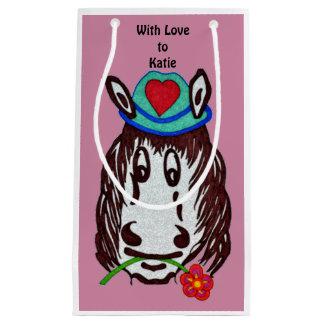Henry-Pferd für Kindergeschenk-Tasche Kleine Geschenktüte