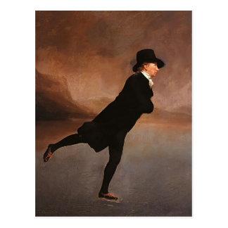 Henry Raeburn- der Skaten-Minister Postkarte