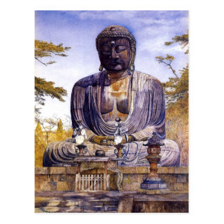 Henry Roderick Newman: Daibutsu in Kamakura, Japa Postkarte