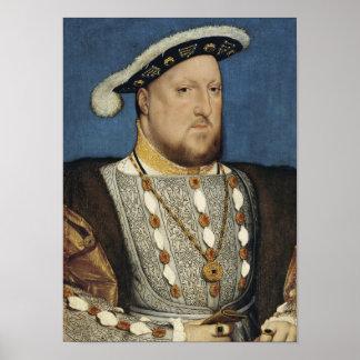 Henry VIII - Hans Holbein das jüngere Poster