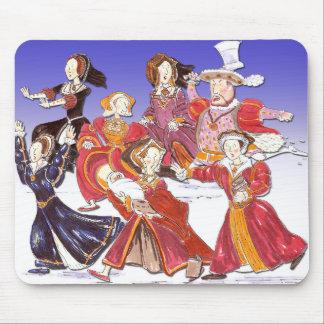 Henry VIII und seine sechs Mousepad