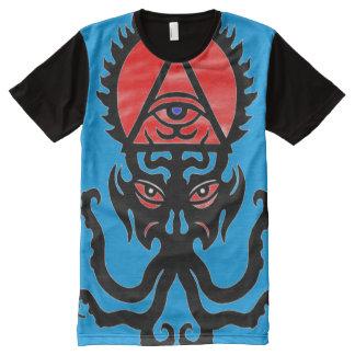 Hephzibah geheimnisvolles Trumpf-Symbol T-Shirt Mit Bedruckbarer Vorderseite