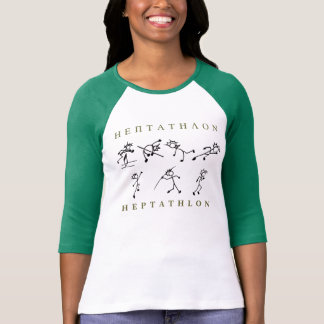 Heptathlon-Shirt-Bahn und Feld T-Shirt