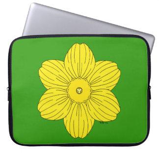 Heraldische Narzisse Laptopschutzhülle