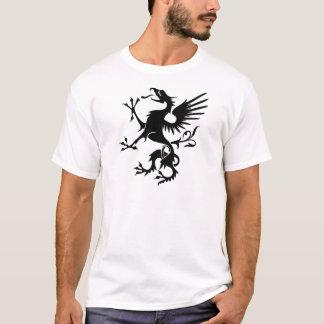 Heraldischer Drache - cool T-Shirt