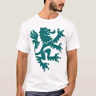 Heraldischer Löwe 01 - Moosgrün T-Shirt