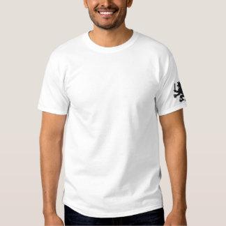 Heraldischer Löwe mit dem Bier-Tassen-lustigen Besticktes T-Shirt