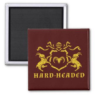 Heraldischer vernünftiger Magnet Quadratischer Magnet